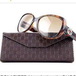 Authentic Gucci GG 3644/S DWJHA' Havana Sunglasses